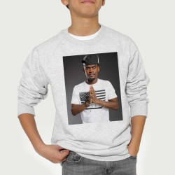Sweat enfant Gris Fan de ... Black M