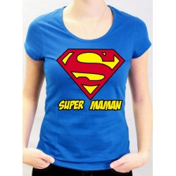T-Shirt SUPERMAN Super Maman