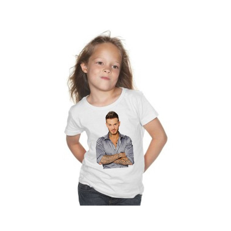 t shirt pokora enfant. Black Bedroom Furniture Sets. Home Design Ideas