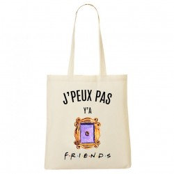 Tote Bag J'peux pas y'a Friends