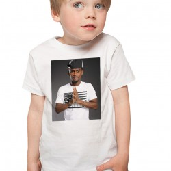 T-Shirt Enfant Blanc Black M