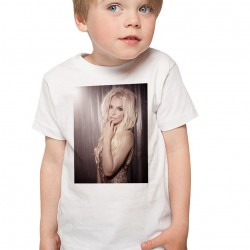 T-Shirt Enfant Blanc Britney Spears