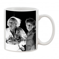 MUG fan de... Retour vers le futur ... Emmett Brown & Marty