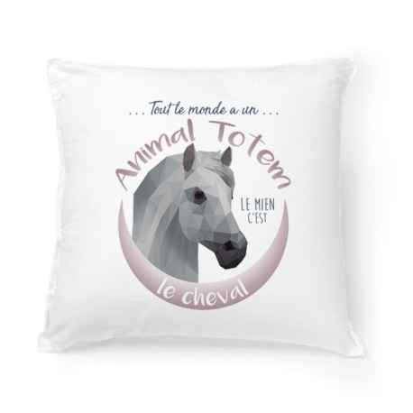 Coussin ANIMAL TOTEM Cheval