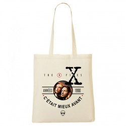 Tote Bag Années 90 - X-files