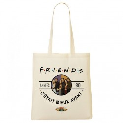 Tote Bag Années 90 - Friends