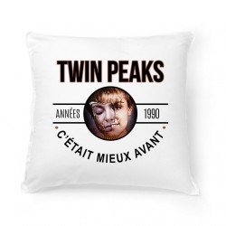 Coussin Années 90 - Twin Peaks