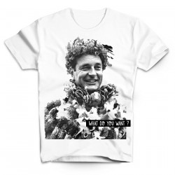 T-Shirt Chirac Tahiti What do you want - Homme blanc