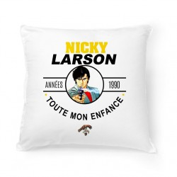 Coussin Années 90 - Nicky Larson