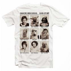T-Shirt Star Wars Photos Vintage sepia - Homme blanc