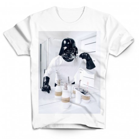 T-Shirt Dark Vador salle de bain Star Wars