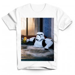 T-Shirt Stormtrooper Relax Star wars - Homme blanc