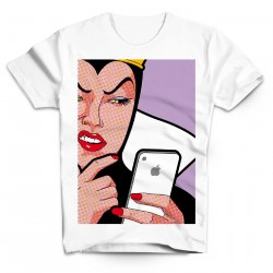 T-Shirt Reine sorcière and I phone - Homme blanc