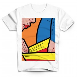T-Shirt Superman Sexy Heros - Homme blanc