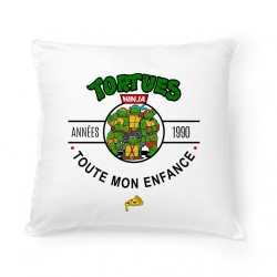 Coussin Années 90 - Tortues Ninja
