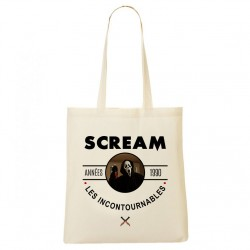 Tote Bag Années 90 - Scream