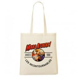 Tote Bag Années 90 - Mars Attacks!