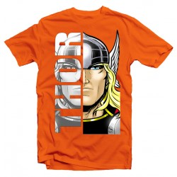 T-Shirt Super-héros Thor - homme orange