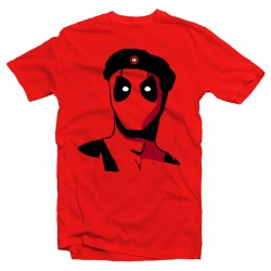 T-Shirt Deadpool Che Guevara - homme rouge