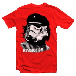 T-Shirt Stormtrooper Che Guevara - Homme rouge
