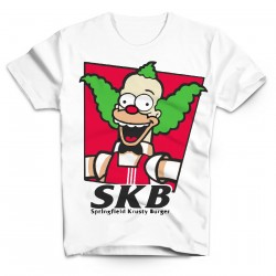 T-Shirt Krusty Burger - Homme blanc