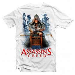 T-Shirt Assassins Creed Game - Homme blanc