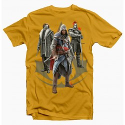 T-Shirt Assassins Creed Game Aldair - Homme jaune