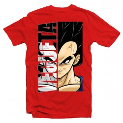 T-Shirt Super-héros Vegeta - Homme rouge