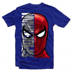 T-Shirt Super-héros Spiderman - Homme bleu