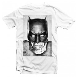 T-Shirt Batman Head Mask Skull