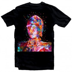 T-Shirt C-3PO Star Wars tribute