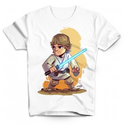 T-Shirt Luke Skywalker BD - Homme blanc