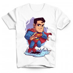 T-Shirt Superman BD - Homme blanc
