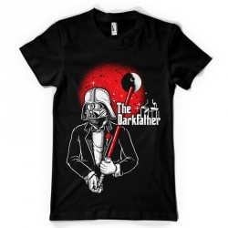 T-Shirt The Dark Father - homme noir