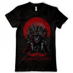 T-Shirt Dark Vador Game of Clones - homme noir
