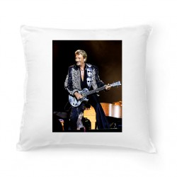 Coussin Fan de ... Johnny Hallyday Guitare