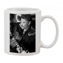 MUG Fan de ... Johnny Hallyday Portrait