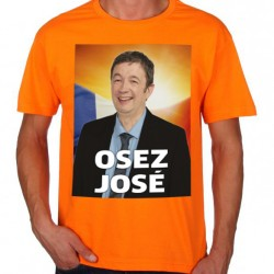 T-Shirt Osez José Scènes de ménages - orange