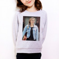Sweat enfant Gris Louane