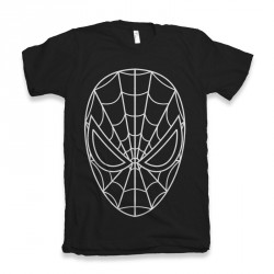 T-Shirt Spiderman black - homme noir