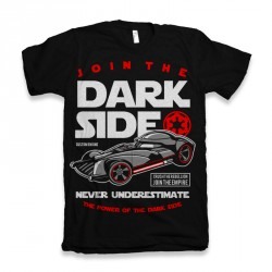 T-Shirt  Join The Darkside - homme noir