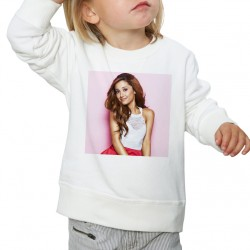 Sweat enfant Blanc Fan de ... Ariana Grande