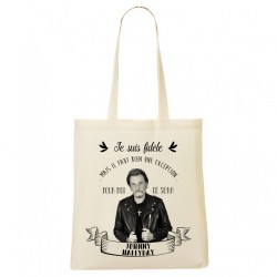 Tote Bag FIDELE Johnny Hallyday