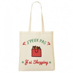 Tote Bag NOËL J'peux pas... J'ai Shopping