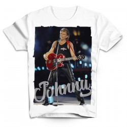 T-Shirt Fan de... Johnny Hallyday Love - homme blanc