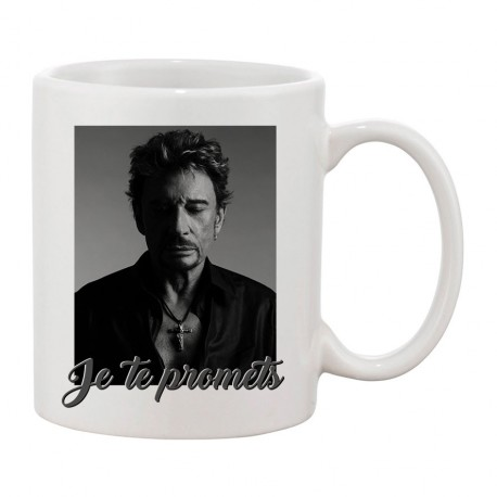 MUG - Johnny : Je te promets