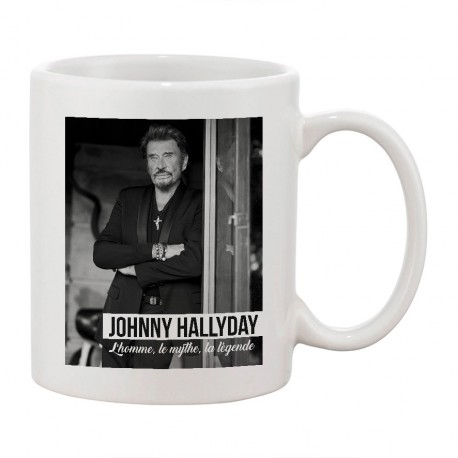 MUG - Johnny : L'homme, le mythe, la légende