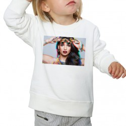 Sweat enfant Blanc Fan de... Tal