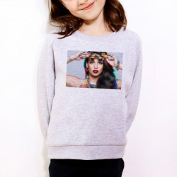 Sweat enfant Gris Fan de... Tal