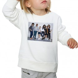 Sweat enfant Blanc Fan de... Kids United